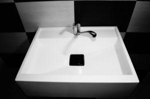 Sklolaminátové umyvadlo